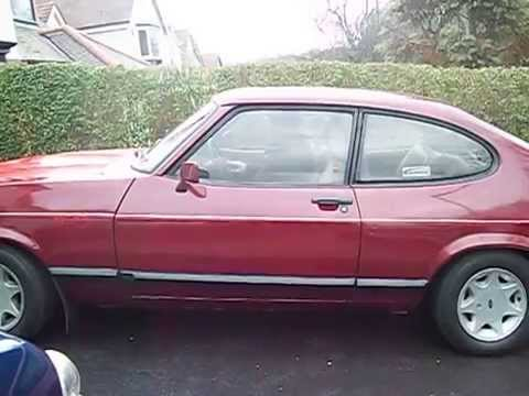 ford capri special start up youtube. Black Bedroom Furniture Sets. Home Design Ideas