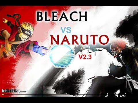 Bleach vs Naruto V2.3 GamePlay - Tive de usar a BANKAI ...