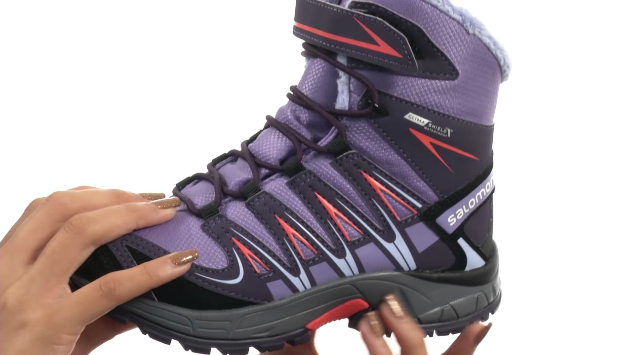 Salomon Kids XA Pro 3D Winter TS CSWP (Little KidBig Kid) SKU:8706543