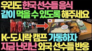 제발 우리도 한국 도시락 먹게 해주세요 l 한국 도시락…