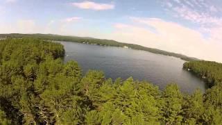 Bear Island - July 4th 2013 - Air Creation Float Trike - Lake Winnipesaukee - New Hampshire