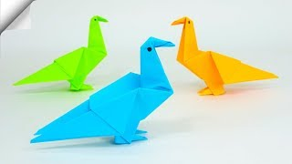DIY паперу іграшки легка паперова птахів