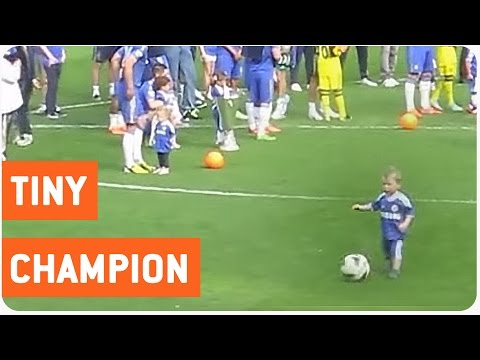Crowd Goes Wild After Kid Scores Goal | Future Soccer (Football) Star
