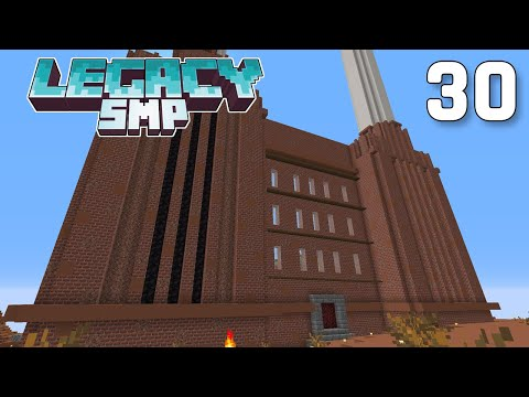 Building the Factory Base - Legacy SMP #30 | Minecraft 1.16