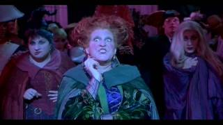 Winifred Sanderson; Witches Perform Spell At Party (HD)