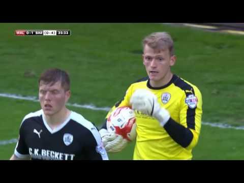 Walsall 1-3 Barnsley Play Off Semi Final 2nd Leg Highlights (15/16)