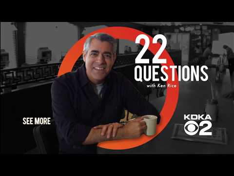 22 Questions with KDKA-TV's Ken Rice