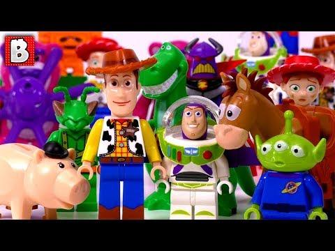 Every LEGO Toy Story Minifigure Ever Made!!! Rare Zurg & Twitch