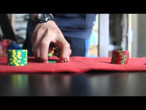 apprendre le shuffle et le chips trick au poker