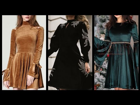 Most popular and trendy party wear middi dresses and skater dresses collection for ladies