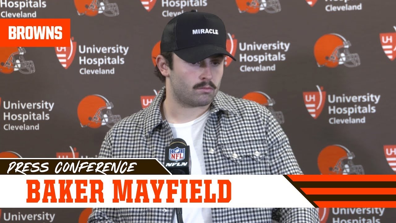 Baker Mayfield postgame press conference - Browns vs. Steelers