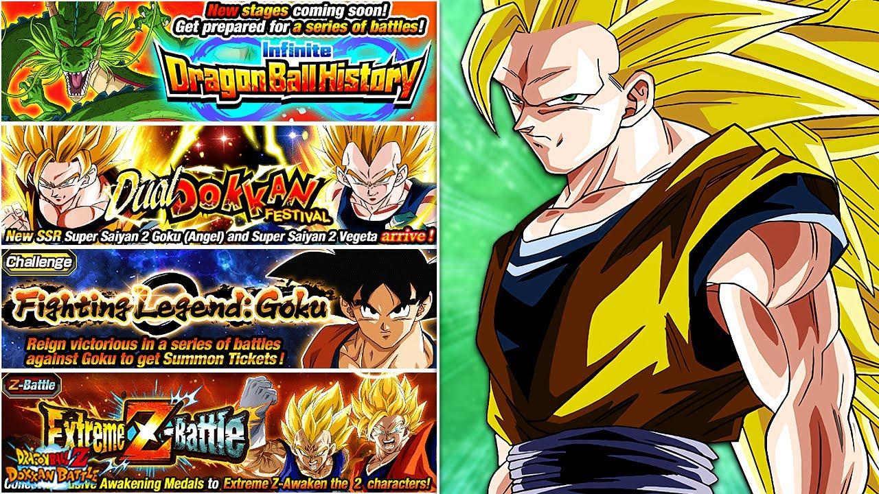 Das Musst Ihr Tun Gohan Goku Goten Day Campaign Part 1 Dbz Dokkan Battle Youtube