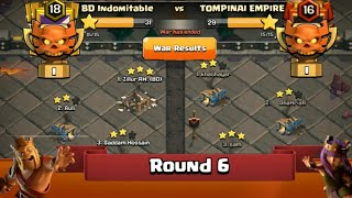 Clan War Leagues - TH12 Attacks 2019 - Clash Of Clans - Round 6 (Season 5)