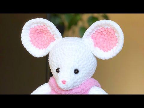 Вязаная мышка. МК. Часть 3