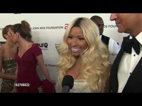 Nicki Minaj Interview - Oscars 2013: Elton John AIDS Foundation (ORIGINAL)