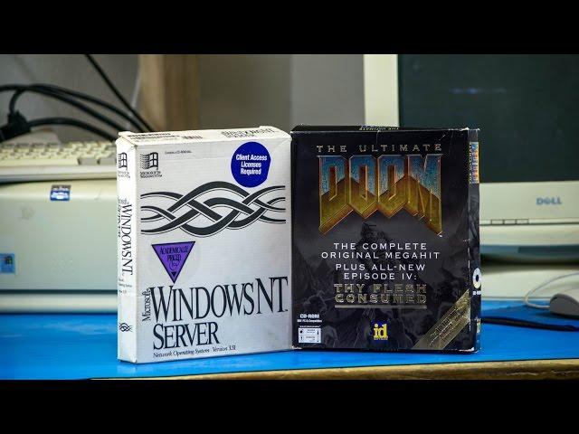 AkBKukU - Running a DOOM Server on Windows NT Server 3.51 [Part 1]