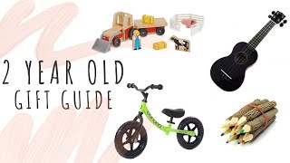 Toys For 2 Year Olds   Gift Guide