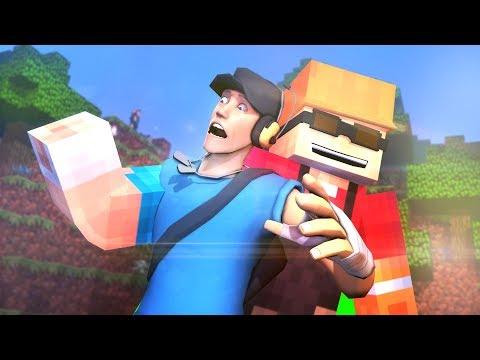 Minecraft X Team Fortress 2 (SFM Animation)