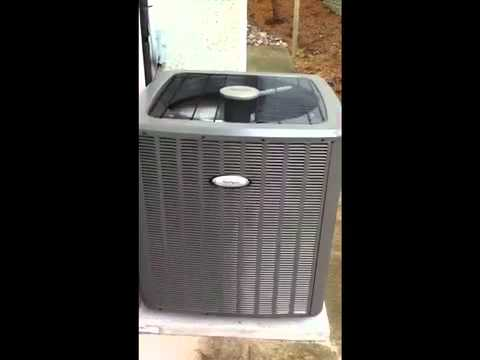 Whirlpool Gold 16 Seer Heat Pump Video