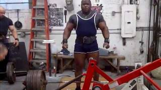 Johnnie Jackson 805 Deadlift @ Metroflex Gym