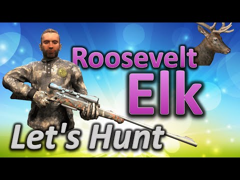 TheHunter Hunting Game - Let's Hunt ROOSEVELT ELK