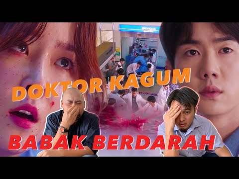 Reaksi Doktor: Dr Jiwang Cikgu Kim | K-Drama Babak Tertusuk Besi