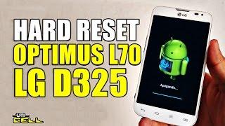 hard Reset LG Optimus L70 d325 - Полный сброс - обходим пароли - Телефон Заблокирован