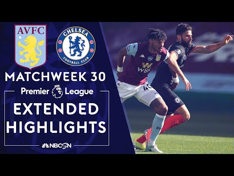 Aston Villa v. Chelsea | PREMIER LEAGUE HIGHLIGHTS | 6/21/2020 | NBC Sports