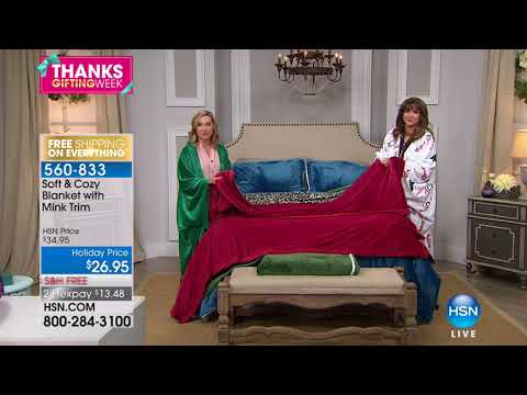 HSN | Soft & Cozy Gifts 11.22.2017 - 10 AM