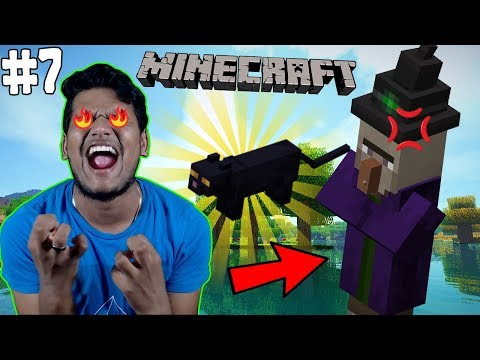 I Stole Witch's Cat (PilPilli) 😆😆 [Minecraft #7]