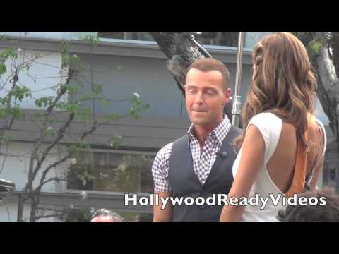 Joey Lawrence Arrives to The Grove in LA for an Extra Interview!