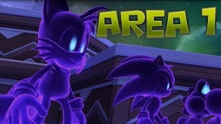 Mario & Sonic at the Sochi 2014 Olympic Winter Games - Legends Showdown - Area 1 (Part 1)