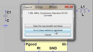 LTspice IV Schematic Editor