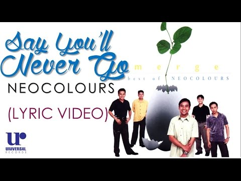 Neocolours- Say You'll Never Go (Official Lyric Video)