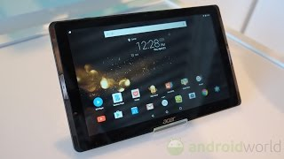 Acer Iconia Tab 10 (2016), anteprima in italiano