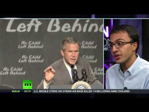 Chris Hedges talks about The failing education system, with Nikhil Goyal