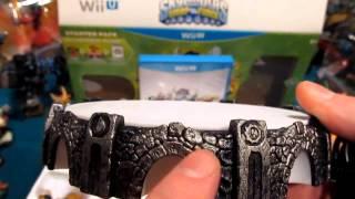 Skylanders SWAP Force Unboxing Nintendo Wii U Starter Pack