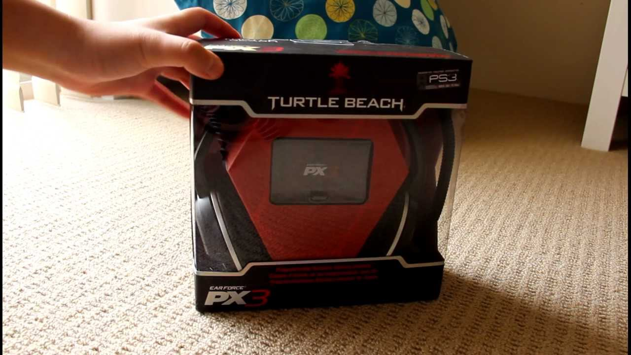 how to connect turtle beach px3 to ps3