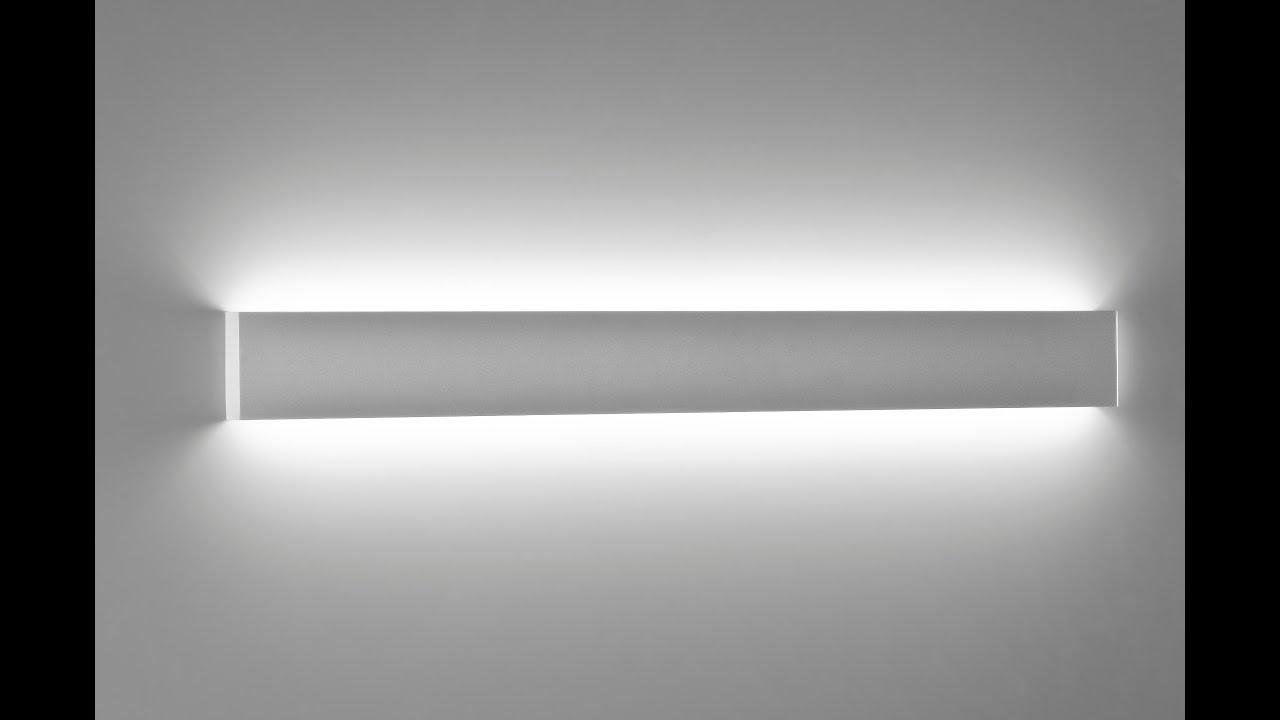 Applique Lampada a Led da parete moderna ultrasottile