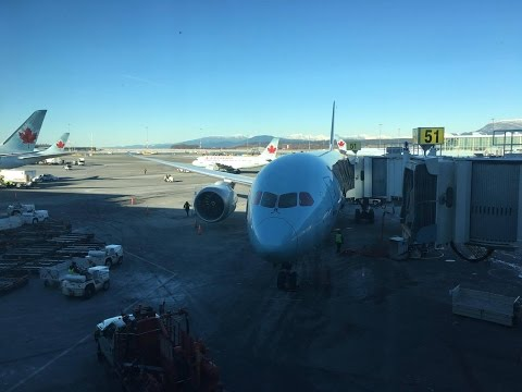 FLIGHT REPORT || AIR CANADA BUSINESS CLASS || SEOUL → VANCOUVER