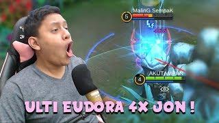 ULTI EUDORA 4x JON ! - Mobile Legends Indonesia
