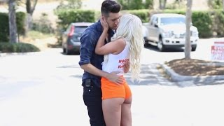 Kissing Prank EXTREME Hottest Girls Edition Pranks GONE WILD PrankInvasion