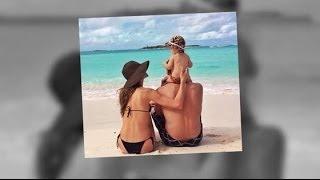 Bikini-Clad Gisele Bündchen Cuddles Her Family on a Tropical Vacation | Splash News TV