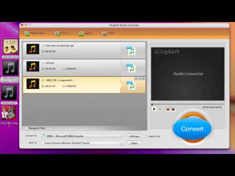 Easy Way to Convert MP3 to WMA on Mac and Windows with MP3 to WMA Converter