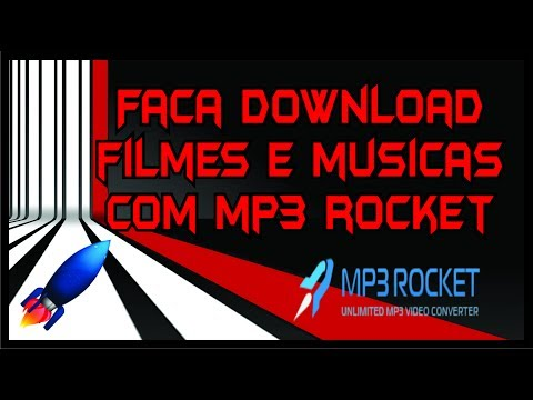 Faça download de videos e áudio com MP3 ROCKET