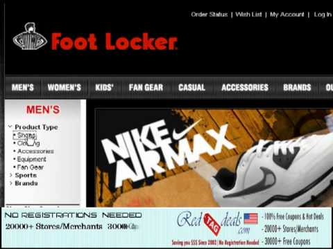 Foot locker official coupons