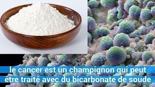 le cancer est un champignon qui peut être traité avec du bicarbonate de soude - conseils