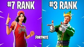 FORTNITE-RARER SKINS DE LA BATTLE ROYALE STORE!