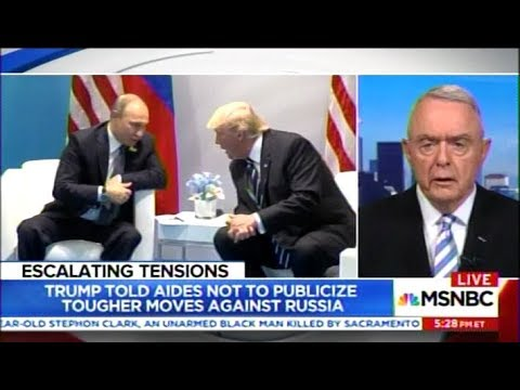 Gen. McCaffrey and Richard Lui Discuss Trump's Threat to Withdraw from Syria (MSNBC)