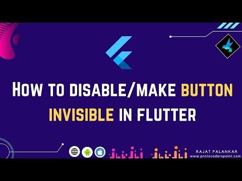 How to disable button in flutter - Set Button NotClickable - change button Opacity